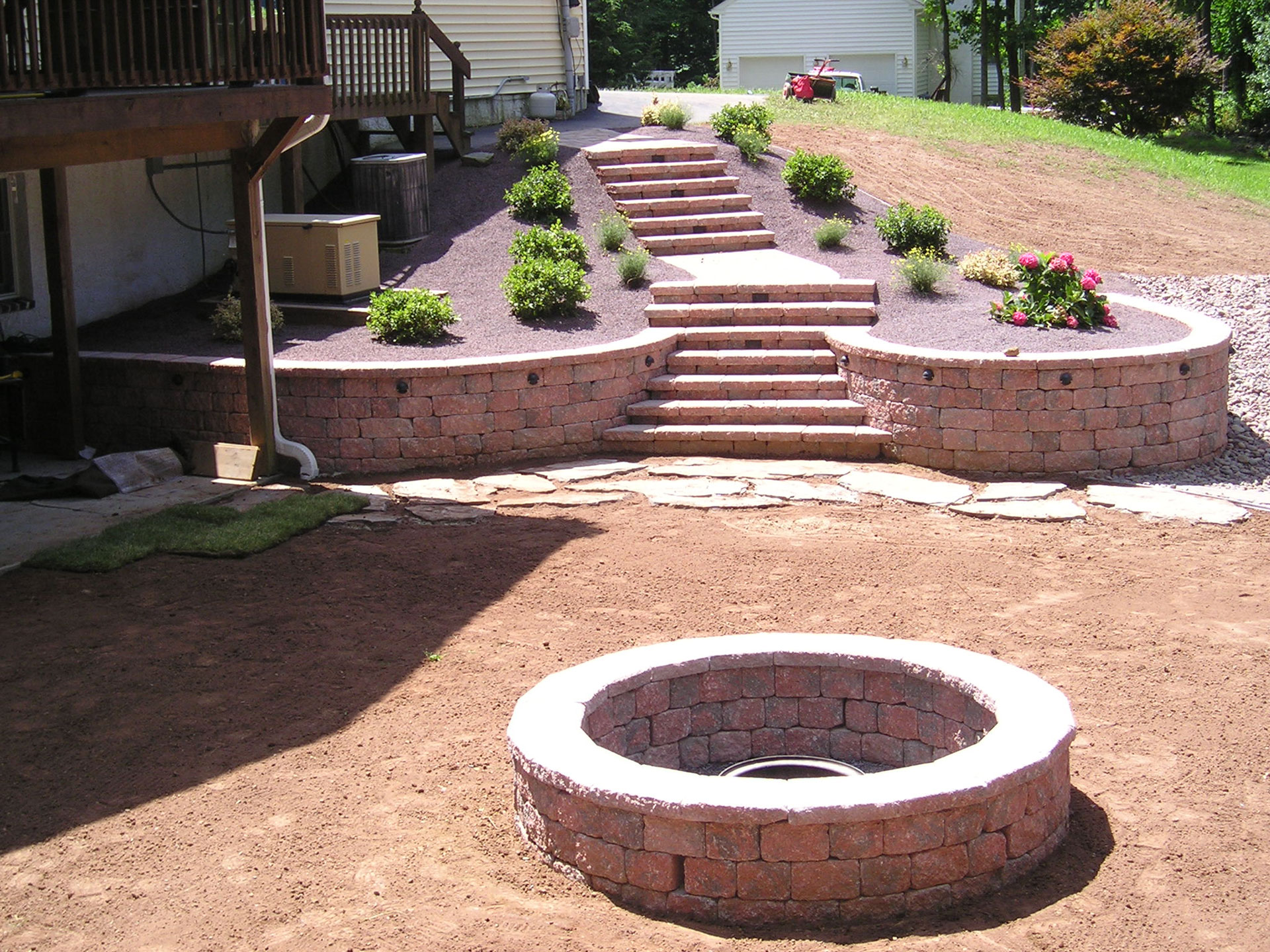 Buckwalter Landscaping, serving Berks County, PA - Patio construction