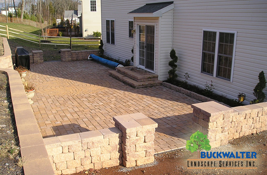 Hardscape Landscape Design by Buckwalter Landscaping in Reading PA