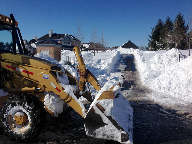 Snow Removal by Buckwalter Landscape Services
